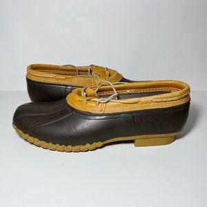 Bean Boots by LL Bean Duck Shoes Rubber Mocs